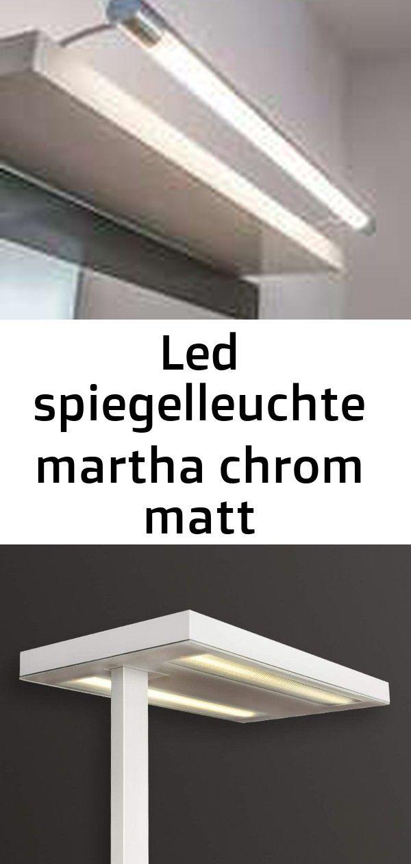 Led Spiegelleuchte Martha Chrom Matt Spiegellampe Lampenwelt Badezimmer Ip44 Weisse Buro Stehleuchte Free F Led 10000 Hf 840 Cp2 Von Luxo Wandleuchte Lenny Decor