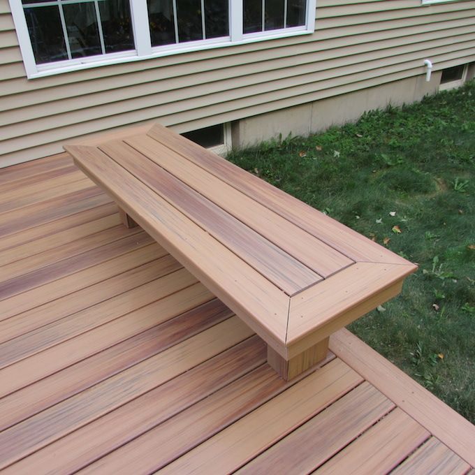 20 best images about deck on pinterest decks backyards for Composite deck railing