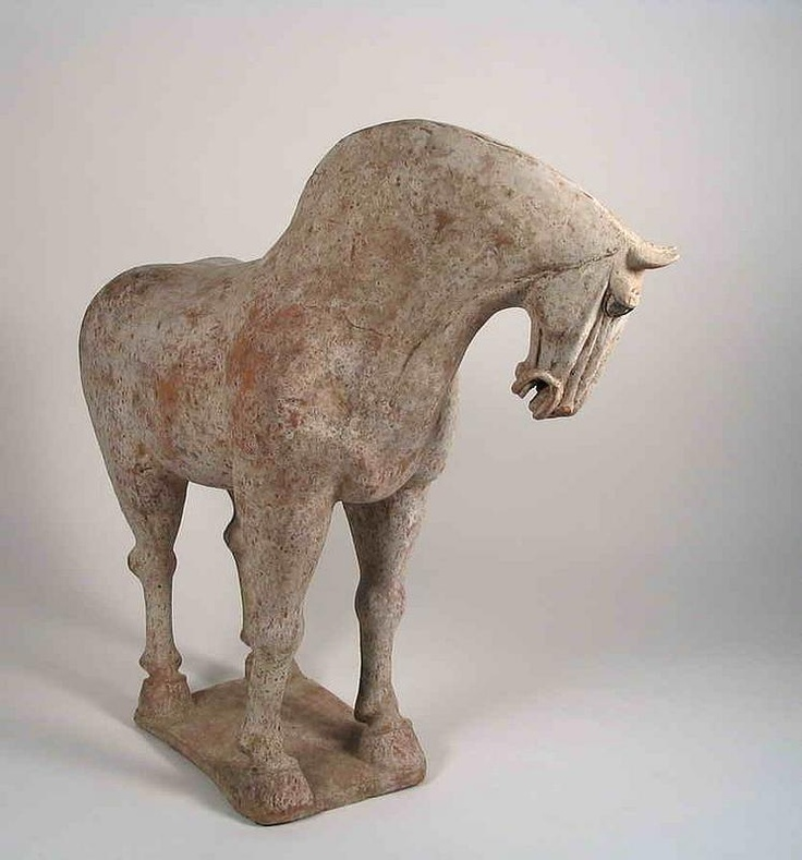 There are certain pieces you want to hug and take home. This Tang dynasty pottery horse is one of them.