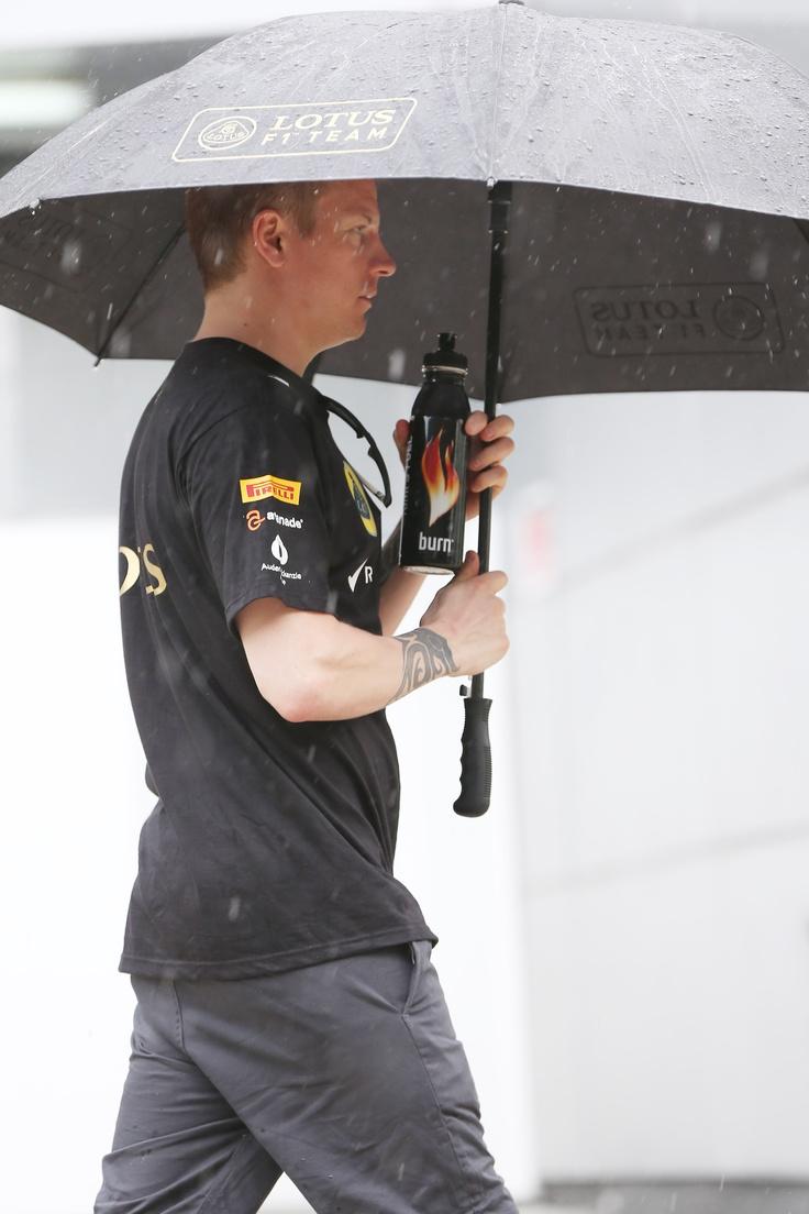 Kimi Raikkonen - Rain in Malaysia