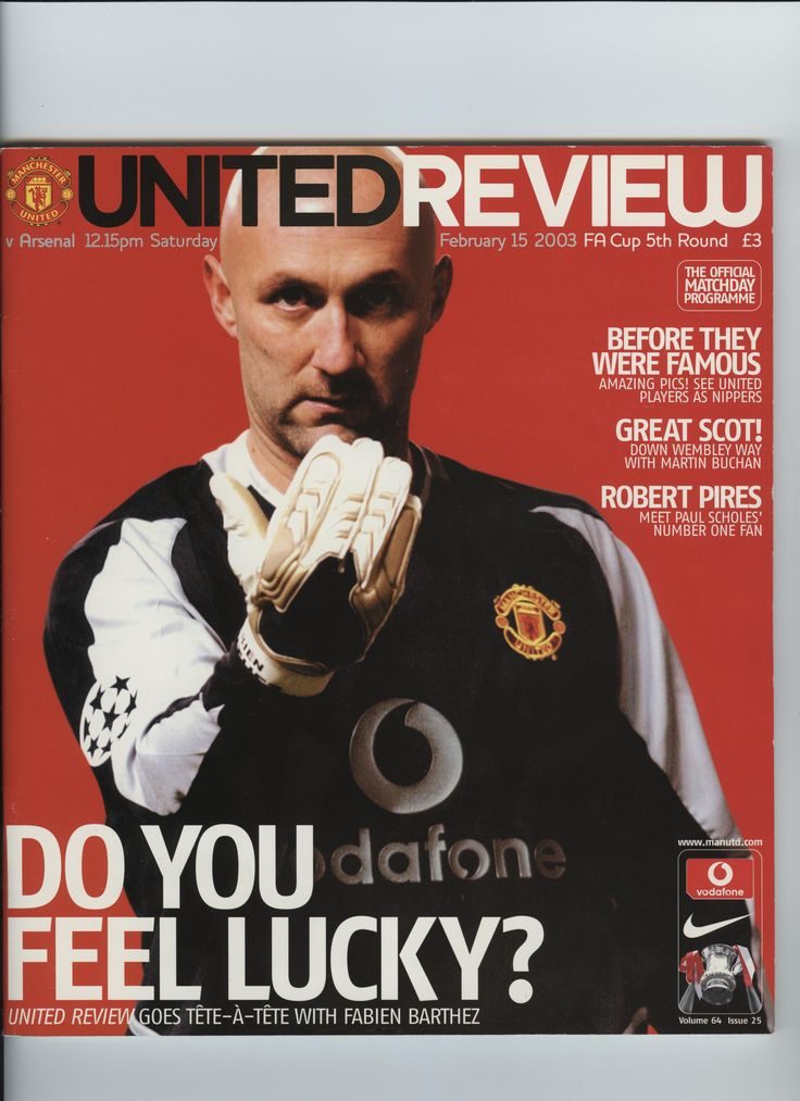 We delve into the classic Manchester United Media archives to reproduce an interview with Fabien Barthez back in February, 2003.