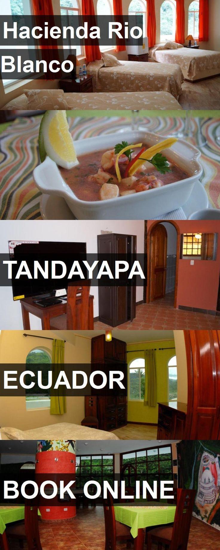 Hotel Hacienda Rio Blanco in Tandayapa, Ecuador. For more information, photos, reviews and best prices please follow the link. #Ecuador #Tandayapa #travel #vacation #hotel