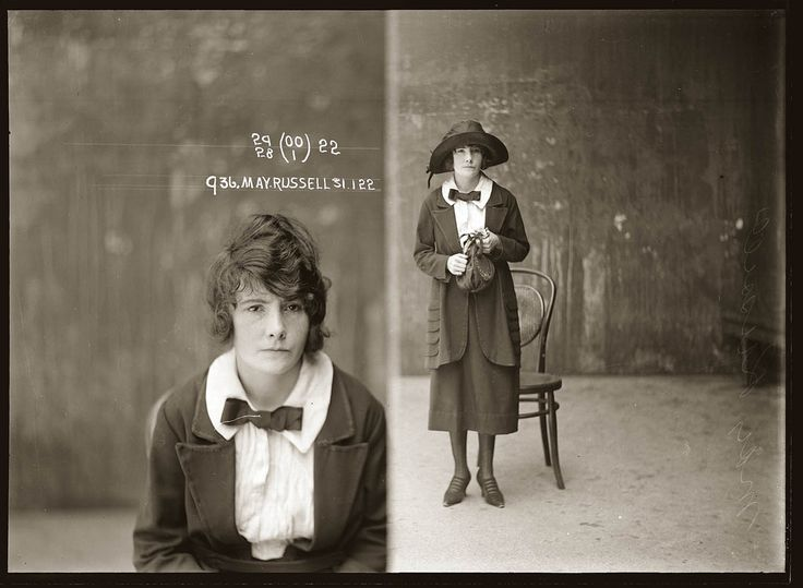 I found it so difficult to limit the number of images in this post. I think they are so interesting and beautiful. These photographic portraits come from the archives of the Sydney Police documenti…