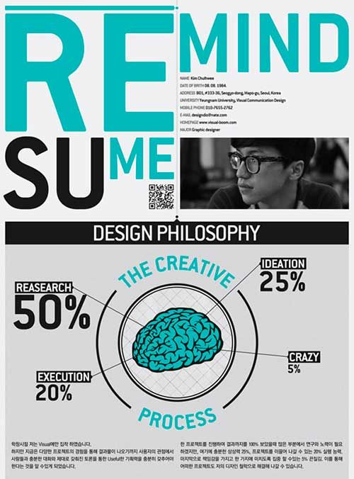 47 best Creative Resumes \/ Currículums Creativos images on - examples of creative resumes