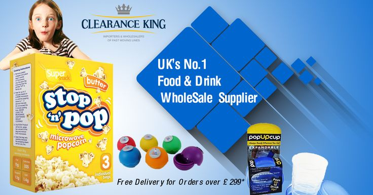 We are leading wholesaler of food and drink products in UK. We provide customers with a wide range of quality branded food, household goods and many more. Our company is wholesale suppliers specialising in the provision of Food and Drinks across UK. Click here : - https://goo.gl/4aLkO2 for more details