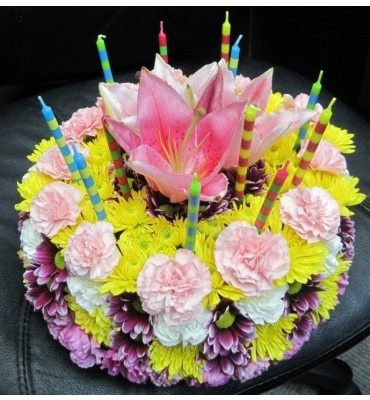 The 22 best images about Flower Cakes on Pinterest Birthday