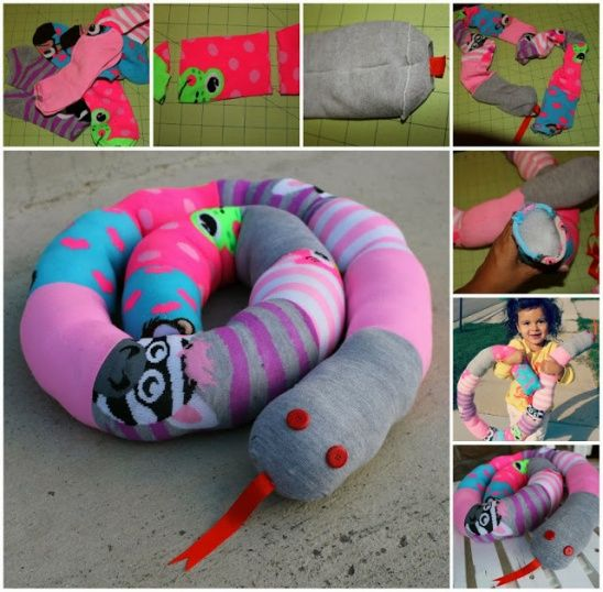 Mila's Sock Snake by Thestitchingscientist | Project | Sewing / Kids & Baby | Toys | Kollabora
