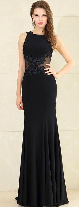 eDressit Lace Appliques Mermaid Dress