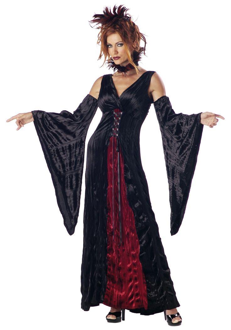 California Costume Womenu0027s Adult-V&ireu0027S Mistress « Clothing Impulse  sc 1 st  Pinterest & 15 best Vampire Dress images on Pinterest | Gothic fashion Vintage ...