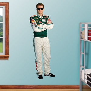"Dale Earnhardt Jr. Amp Drive  6'5"" in height and 2'2"" wide! This would make me very happy this year for Christmas to see my Jr. on MY wall! OH YEAH!!!!"