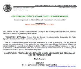 Articulo 3° constitucional