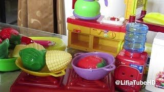 Chef Niala - Masak masakan Mainan Anak Fruit Kinect (Cut Fruit) @LifiaTubeHD - YouTube