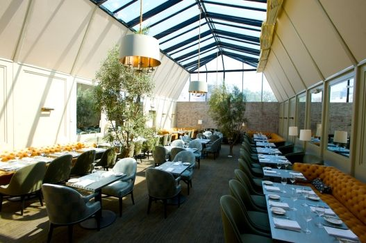 Tavern restaurant in brentwood  designed by Jeffrey Allan Marks.