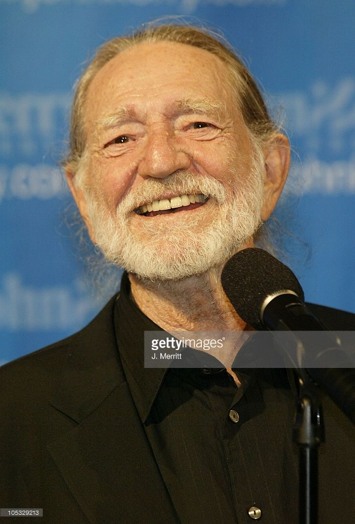 Willie Nelson during John Kerry and Friends Victory Tour 2004 Concert at Walt Disney Concert Hall in Los Angeles, California, United States.
