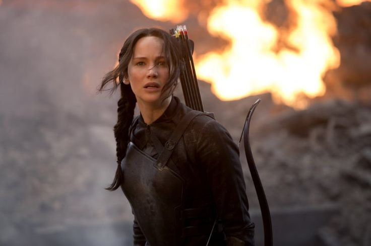 Jennifer Lawrence in The Hunger Games: Mockingjay - Part 1 (2014)