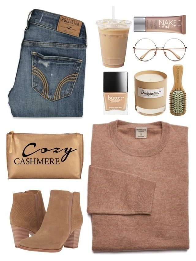 """Top Fashion Sets for Nov 22nd, 2016 Cozy"" by cindycook10 on Polyvore featuring Franco Sarto, The Body Shop, Olfactive Studio, Butter London, Urban Decay, Hollister Co., Jigsaw, neutrals, polyvorecommunity and fashiontrend"