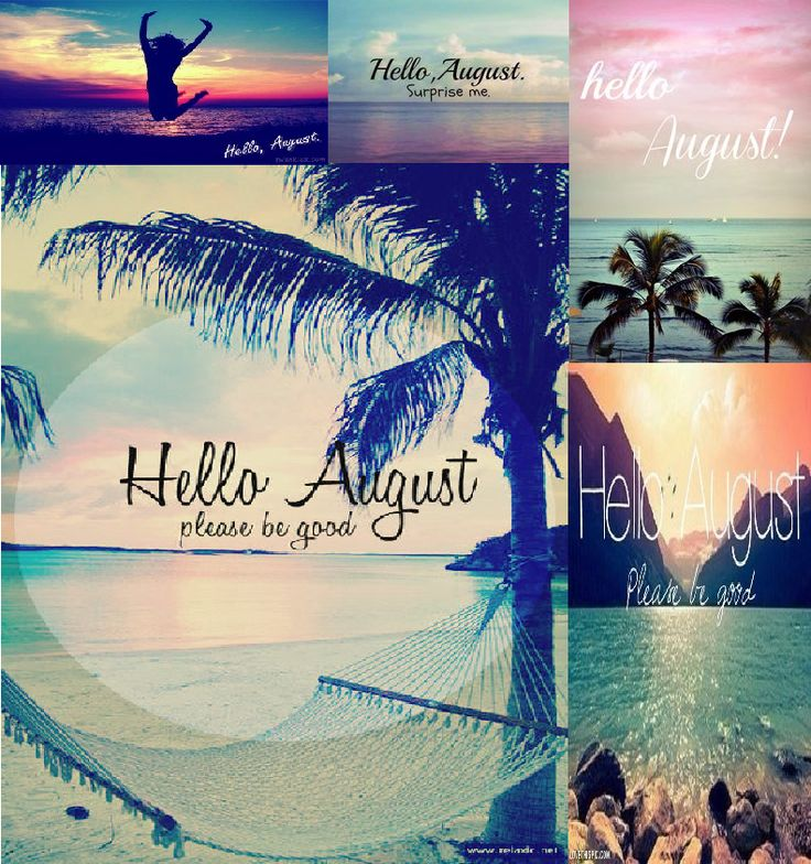 Wonderful Hello August