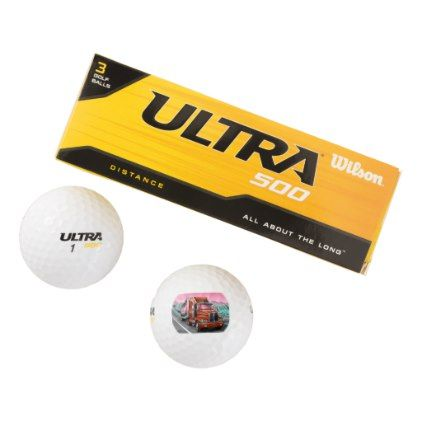 #Wilson golf balls with a 18 wheeler freight truck - #travel #trip #journey #tour #voyage #vacationtrip #vaction #traveling #travelling #gifts #giftideas #idea