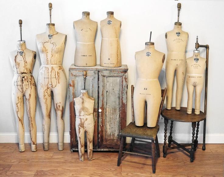 Best 20  Vintage dress forms ideas on Pinterest