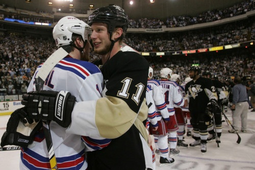 Marc Staal and Jordan Staal.