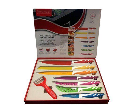 Juego de cuchillos cerámicos de 8 piezas SÓLO 9,68€