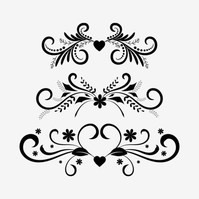 Vintage Ornaments Vector Hand Drawn Dividers Ornaments Vintage Ornaments Dividers Png And Vector With Transparent Background For Free Download Ornament Drawing How To Draw Hands Dot Journals