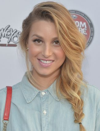 A casual way to work the side hairstyle is with a braid like Whitney Port's...