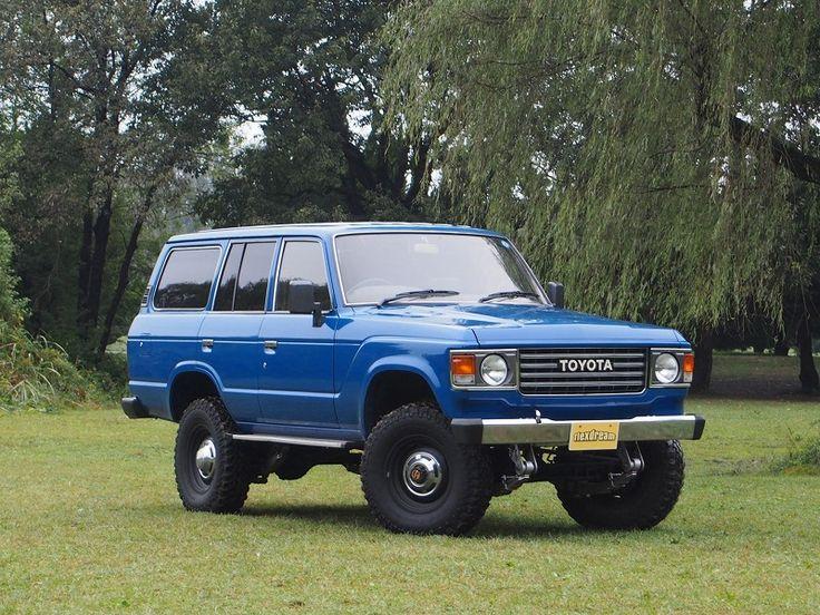 ランクル60丸目換装 ブルー Toyota Landcruiser60 FJ62G