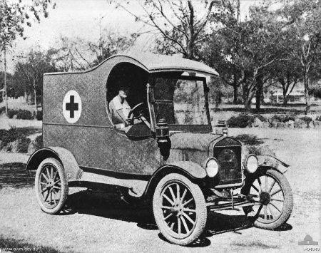 WWI Australian Ford Model T Ambulance Old american cars