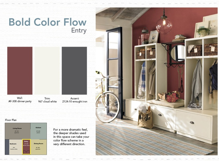 Creating color flow in your home open floor house and for Carpet and paint color combinations