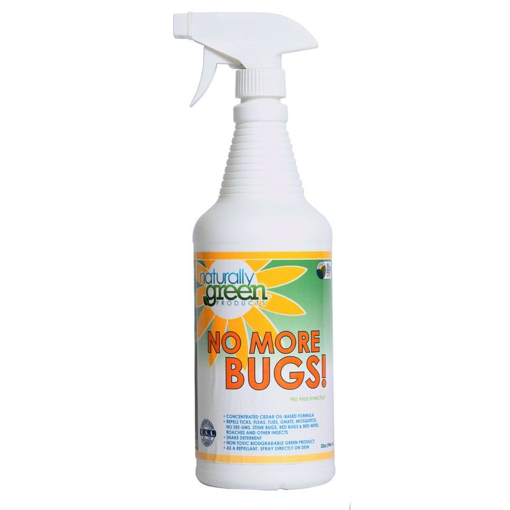 Naturally Green 83231 32 Oz No More Bugs! Natural Cedar Oil Based Pest Control And Skin Repellant - 1387-7865