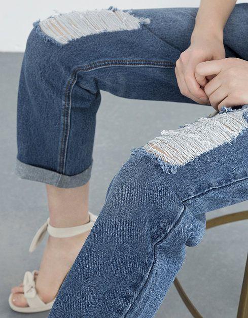 Jeans boyfriend rotos | JEANS | SHOP ONLINE BLANCO.COM
