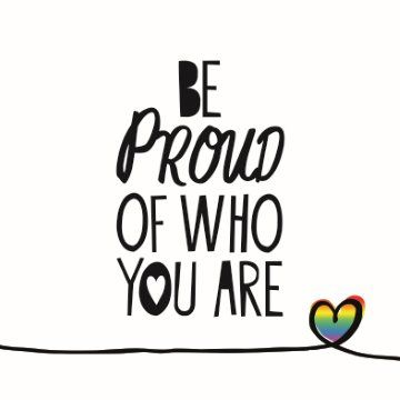 Be proud of who you are! #Hallmark #HallmarkNL #Wenskaart #VersvandePers #RainbowLoveCards