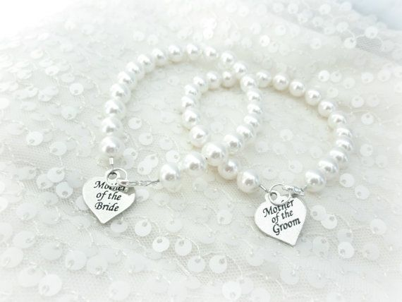 Mother of the Bride Pearl Strand Bracelet by AliChristineBridal