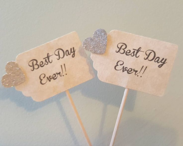 Best Day Ever Cupcake Toppers Need we say any more? #bestdayever #fairytale #wedding #weddings #cupcakes #cupcake #cupcaketopper #cupcaketoppers #cake #cakes #cupcakes #caketopper #caketoppers #weddingideas #weddingcake #weddingcupakes #weddingcakes #weddingcupcake #cakedecoration #cupcakedecoration #cakedecorations #cupcakedecorations #cakedeco #cupcakedeco