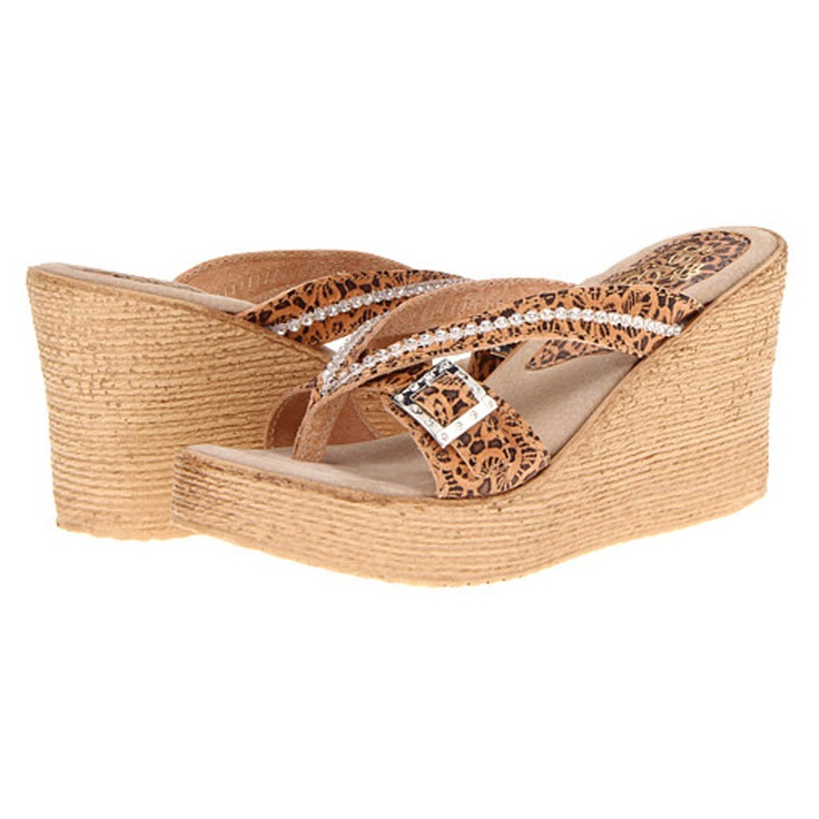 Sbicca Womens Kendall Wedge Sandals
