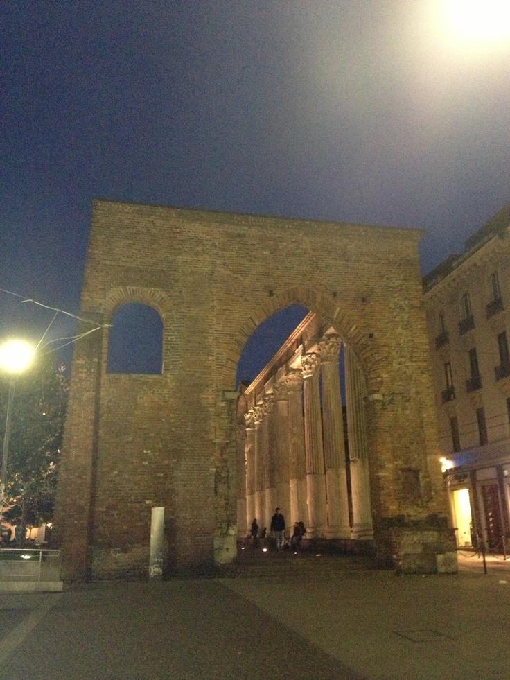 Colonne San Lorenzo #nightlife #milanobynight
