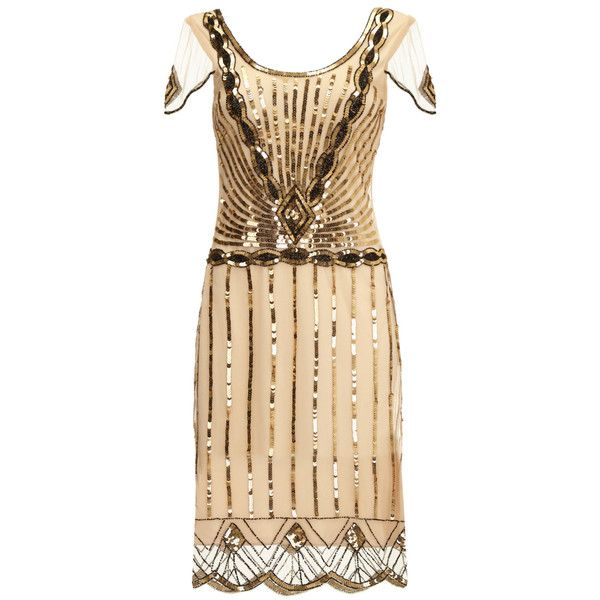 Plus Size Eva Blush Dress with Sleeves Vintage 1920s Flapper Great... ($130) ❤ liked on Polyvore featuring dresses, 1920s flapper dress, party dresses, bridesmaid dresses, plus size dresses and vintage flapper dress