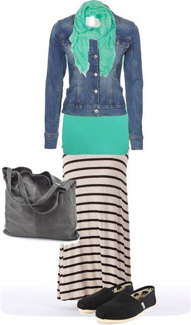 LOLO Moda: Stylish Maxi Skirts - 2013 Aline for Avenue Chic