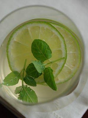 Gyömbérszörp és gyömbéres limonádé