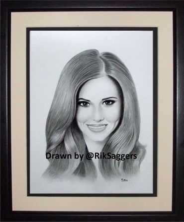 Cheryl Cole drawing