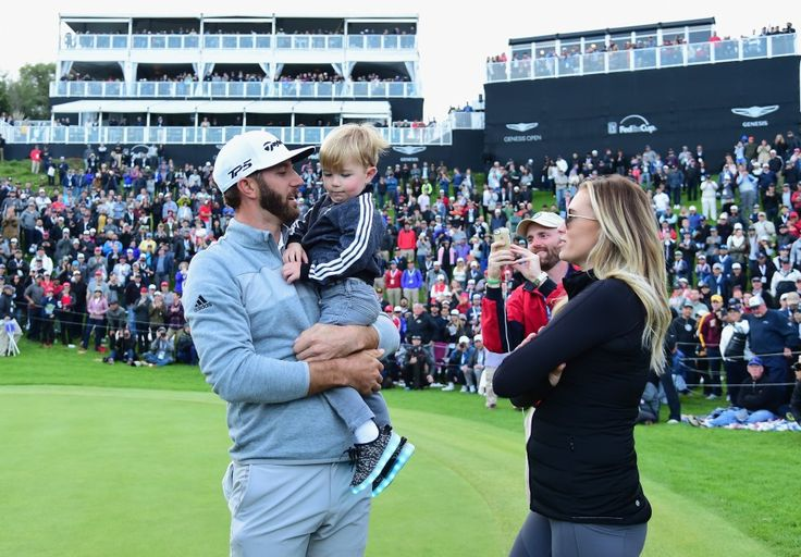 Dustin Johnson celebrates his win at the Genesis Open with wife Paulina Gretzky and son Tatum. (Harry How/Getty Images)  For Dustin Johnson, what could be better than attaining the No. 1 spot in the world golf rankings? Well, how about having baby No. 2 on the way? On Saturday, Johnson's...  http://usa.swengen.com/dustin-johnson-has-the-worlds-no-1-ranking-and-baby-no-2-on-the-way/