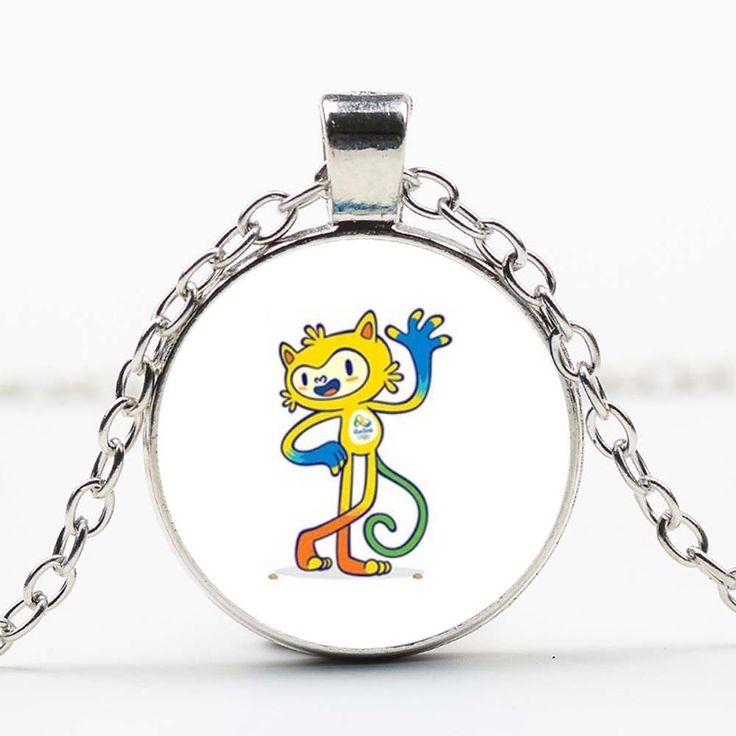 New 2016 Brazil Rio Olympic Games Mascot Pendant Necklace Souvenir Gift DD 375   eBay