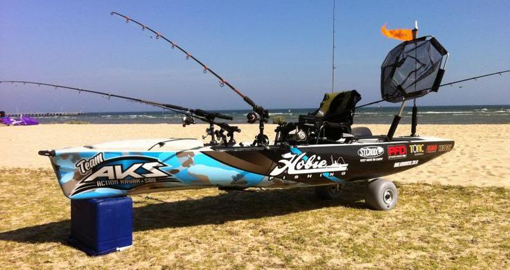 VICTORIAN YAK ANGLERS • View topic - My New Hobie Pro Angler 14