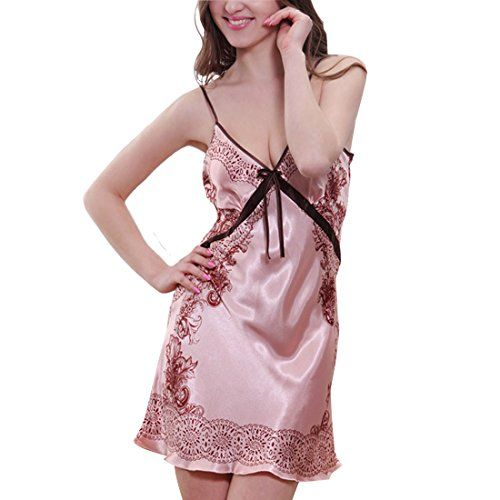LerBen Womens Luxury Nightwear Dressing Gown Robe Babydoll Sleepwear Lingerie Pajams *** You can get additional details at the image link. Note: It's an affiliate link to Amazon.