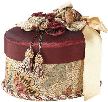 Red Dempsey Romance Oval Box