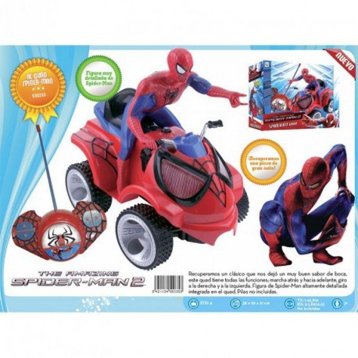 Juguete SPIDERMAN QUAD RADIO CONTROL Precio 35,10€ en IguMagazine #juguetesbaratos