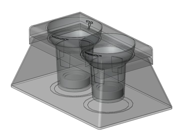 THE ORIGINAL MAKSIMATIC CUP HOLDER IS A FACTORY APPLICATION (FOR LICENSE OR SALE) MARKETED AS A TECHNOLOGY INTENDED TO BE APPLIED TO & BUILT-IN TO VEHICLES AHEAD OF TIME