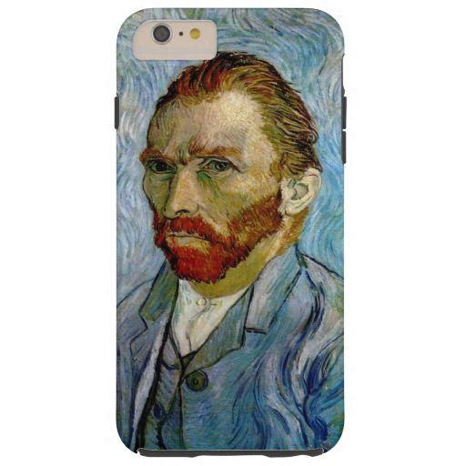 Van Gogh Self Portrait iPhone 6 Plus Case