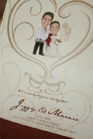 wedding reception program emcee script